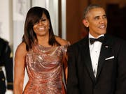 Der ehemalige US-Präsident Barack Obama und seine Frau Michelle steigen als Produzenten bei Netflix ein. (Foto: Pablo Martinez Monsivais/AP Archiv 2016) (Bild: KEYSTONE/AP/PABLO MARTINEZ MONSIVAIS)