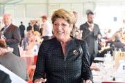 Heidi Grau-Lanz besuchte währende Ihrer Amtszeit als höchste Thurgauerin über 100 Anlässe - wie etwa ein Pferderennen im Herbst 2017 in Frauenfeld. (Bild: Donato Caspari)