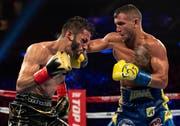 Ein flinker Kämpfer: Vasiliy Lomachenko (rechts) gegen Jorge Linares im WM-Kampf. (Bild: Al Bello/Getty Images)
