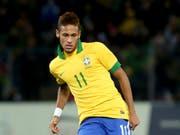 Muss mindestens in den Final kommen, um einen WM-Bonus zu erhalten: Brasiliens Superstar Neymar (Bild: KEYSTONE/EQ IMAGES/PASCAL MULLER)