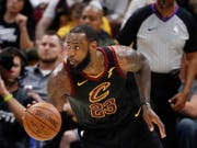 Nicht zu stoppen: Clevelands Superstar LeBron James (Bild: KEYSTONE/EPA/DAVID MAXWELL)