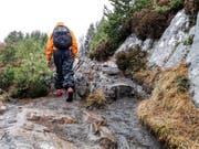 Den Einstieg zur Wanderung zum Gipfel des Sukkertoppen ist leicht zu übersehen. (Bild: Marlen Hämmerli)
