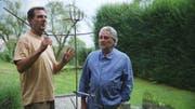 Initiant Goffredo Frei (links) und Protagonist Armin Gloor. (Bild: Mythenfilm)