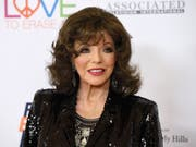 """Das nimmermüde """"Denver-Beast"""" Joan Collins feiert heute seinen 85. Geburtstag. (Bild: Keystone/AP Invision/CHRIS PIZZELLO)"""