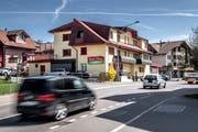 Die Rottal-Metzg in Ruswil schliesst Ende Monat aus wirtschaftlichen Gründen. (Bild: Pius Amrein, 11. April 2018)