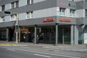 Die Raiffeisenbank in Ebikon. (Bild: Dominik Wunderli)