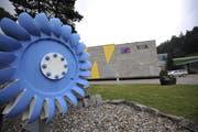 Das Kraftwerk der Elektrizitätswerk Altdorf AG in Bürglen. (Symbolbild UZ)