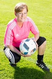 Der Aufstieg mit Triesen in die zweite Liga war Olivia Meiers grösster Erfolg. (Bild: Mareycke Frehner)