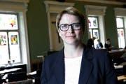 Die Zuger Datenschützerin Claudia Mund.Bild: Zuger Zeitung/Werner Schelbert)