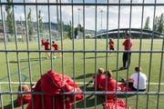 Es wird immer noch gekickt im ehemaligen Fussballstadion Espenmoos.
