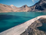 Der Bundesrat verzichtet darauf, die Wasserzinsen zu senken. (Bild: KEYSTONE/AXPO)