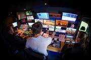 Blick ins Studio der beliebten Sendung «Guten Morgen Österreich», seit 2016 fester Bestandteil des ORF-Frühstücksfernsehen. (ORF)