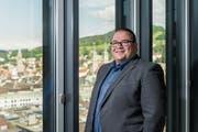 Wie soll St.Gallen 2036 aussehen? Christian Geiger sucht nach Antworten. (Bild: Hanspeter Schiess)