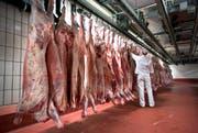Rinderhälften werde deutlich mehr aus Deutschland importiert. (Bild: Gaetan Bally)