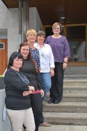 Der letzte Vorstand des reformierten Frauenvereins Erstfeld. (Bild: PD)