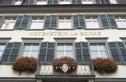 Der Sitz von Notenstein La Roche in St.Gallen. (Bild: Ralph Ribi (26. Oktober 2016))