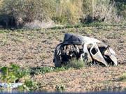 Auf Malta wurde die maltesische Enthüllungsjournalistin Daphne Caruana Galizia im Oktober 2017 mit einer Autobombe getötet. (Bild: KEYSTONE/AP/RENE ROSSIGNAUD)