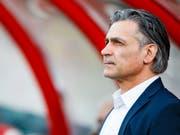 Maurizio Jacobacci glickt mit dem FC Sion in die Zukunft (Bild: KEYSTONE/VALENTIN FLAURAUD)