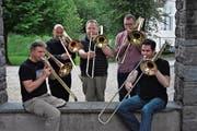 TrombUri gibt am 27. Mai in der Klosterkirche Seedorf ein Konzert zum 20-jährigen Bestehen. (Bild: PD)