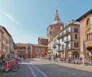 Piazza della Vittoria in Pavia