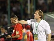 Alain Geiger ist neuer Trainer von Servette (Bild: KEYSTONE/EPA/MOHAMED MESSARA)