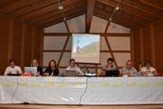 Der Verwaltungsrat der LSH hat die Totalsanierung gut vorbereitet. Im Bild von links Andreas Baumann, Evelyne Russi, Brigitte Studhalter, Präsident Thomas Dillier, Marc Rothenfluh, Bruno Frei und Robert Hodler. (Bild: Georg Epp)