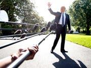 Wie nicht doch am 12. Juni? - Nach seiner Absage hält Trump einen Nordkorea-Gipfel am ursprünglich geplanten Datum doch für möglich. (Bild: KEYSTONE/AP/JACQUELYN MARTIN)