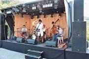 Die Gruppe «Pätschwerk» bot mit Kletschmer- und Gipsy-Sound hörenswerte Musik. (Bild: Bilder: Thomas Schwizer)