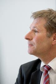 Regierungsratspräsident Marcel Schwerzmann (Bild: Corinne Glanzmann, 13. April 2017)