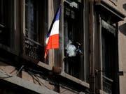 Frankreich nahm zwei frühere Agenten seines Auslandsgeheimdienstes fest. (Bild: KEYSTONE/AP/LAURENT CIPRIANI)