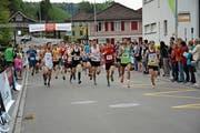 Das Organisationskomitee der Kreuzegg Classic hofft, dass am 2. Juni die Teilnehmerzahl von 1000 Läuferinnen und Läufern geknackt wird. (Bild: Beat Lanzendorfer)
