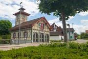 Das alte «Sprözähüsli» in Mörschwil soll zu einem Treffpunkt für Alt und Jung werden. (Bild: Corinne Allenspach)
