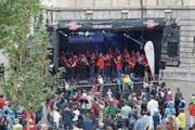 Das Dorfzentrum von Herisau wird wiederum den Vereinen, Musikern und der Bevölkerung gehören. (Bild: Bilder: PD)