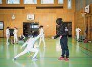 Der Fechtclub St.Gallen zählt 100 Mitglieder und ist der grösste in der Ostschweiz. (Bild: Urs Bucher)