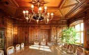 Der Innenausbau im Rathaus in Azmoos ist noch mehrheitlich original erhalten. (Bild Peter Schulthess/photoimage.ch)