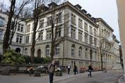 Die Kantonsschule Musegg in der Stadt Luzern. (Archivbild Boris Bürgisser)
