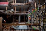 Das Schulhaus Grossmatt präsentiert sich derzeit wie eine Ruine. (Bild: Corinne Glanzmann9