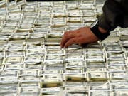 Die peruanische Polizei hat eine Geldfälscherbande ausgehoben. (Bild: KEYSTONE/EPA/CARLOS DURAN ARAUJO)