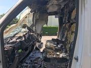 Beim Brand entstand Sachschaden von rund 10'000 Franken. (Bild: Kapo TG)