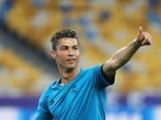 Auch in Kiew werden aller Augen auf Cristiano Ronaldo gerichtet sein (Bild: KEYSTONE/EPA/ARMANDO BABANI)