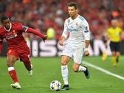 Keiner gewann die Champions League öfter: Cristiano Ronaldo (Bild: KEYSTONE/EPA/GEORGI LICOVSKI)