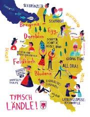 Typisch Ländle - eine Illustration von Bianca Tschaikner.