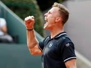 Im Final kaum gefordert: Marton Fucsovics gewann in Genf seinen ersten ATP-Titel (Bild: KEYSTONE/EPA KEYSTONE/SALVATORE DI NOLFI)