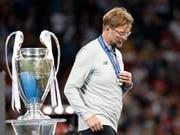 Der FC Liverpool von Jürgen Klopp war in Kiew auch vom Glück verlassen (Bild: KEYSTONE/AP/PAVEL GOLOVKIN)