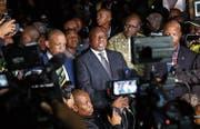 Südafrikas Präsident Cyril Ramaphosa ist seit 100 Tagen im Amt. (Bild: EPA (Johannesburg, 2. April 2018))