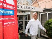 Vladimir Petkovic zeigt sich zum Start der WM-Vorbereitung in Lugano sehr entschlossen (Bild: KEYSTONE/TI-PRESS/ALESSANDRO CRINARI)