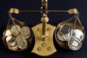 Die politische Krise in Italien sorgt für einen schwachen Euro. (Martin Ruetschi/Keystone)