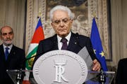 Italiens Staatspräsident Sergio Mattarella (Fabio Frustaci/ANSA)