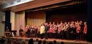 Der Frauenchor stellte einmal mehr seine musikalische Vielseitigkeit unter Beweis. (Bild: Christof Schlegel)