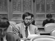 Vollblutpolitiker mit Ecken und Kanten: Der Berner SP-Nationalrat Alexander Tschäppät in einer undatierten Aufnahme aus den 1990er-Jahren. (Bild: Keystone/KARL-HEINZ HUG)